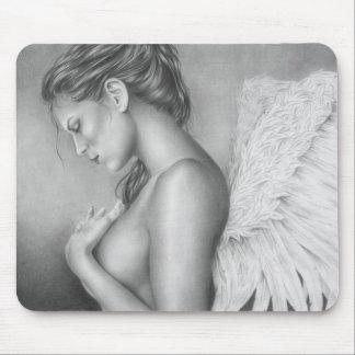 Sadness of an angel Mousepad