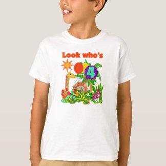 Safari 4th Birthday T-Shirt