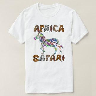 Safari Africa  Batik Running Zebra  Tshirt