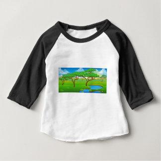 Safari African Savannah Scene Landscape Baby T-Shirt