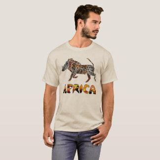 Safari African Warthog Tshirt
