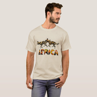 Safari African Wild Dog Tshirt