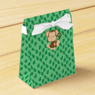 Safari Animals | Baby Monkey Favor Box