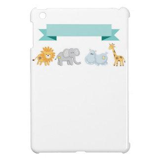 Safari Animals Banner iPad Mini Covers