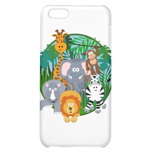 Safari Animals Cartoon iPhone 5C Cover
