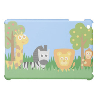 Safari Animals Theme iPad Mini Cases