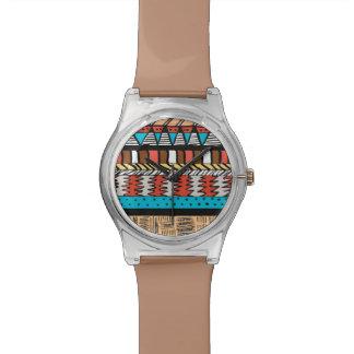 Safari Aztec Pattern Watches