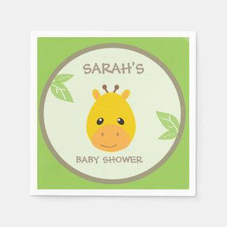Safari Baby Shower Napkins Disposable Napkin