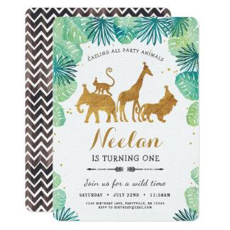 Safari Birthday Invitation