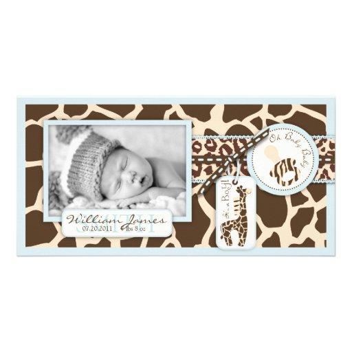 Safari Boy Photo Card