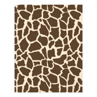 Safari Boy Scrapbook Paper Giraffe