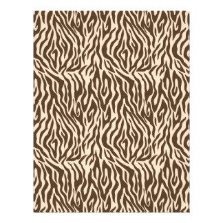 Safari Boy Scrapbook Paper Zebra