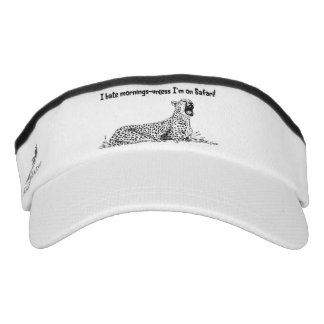 Safari custom knit visor