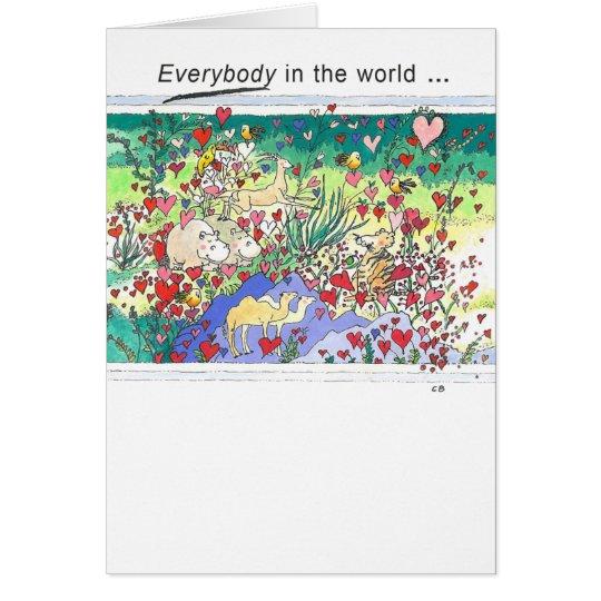 """""""Safari"""" Friendship Card"""