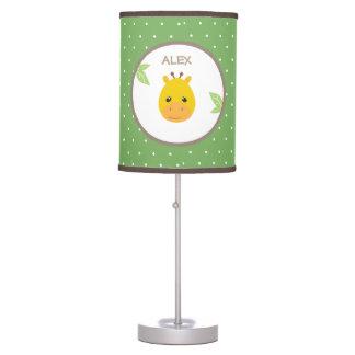 Safari Giraffe Nursery/Kids Room Lamp