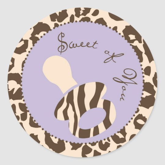 Safari Girl LAV Sticker C2
