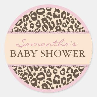 Safari Girl Sticker CHE