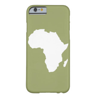 Safari Green Audacious Africa Barely There iPhone 6 Case
