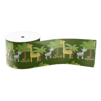 Safari Grosgrain Ribbon