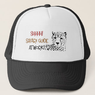 Safari Guide baseball cap. Trucker Hat