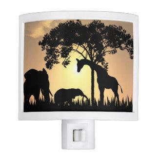 Safari nightlight night lights