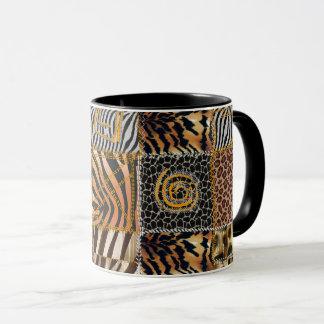 Safari patchwork Combo Mug