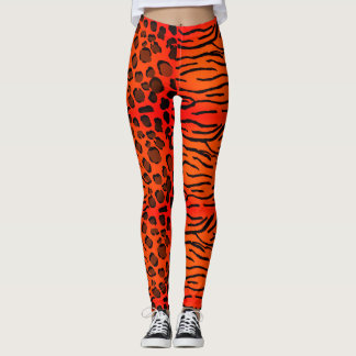 Safari Print Leggings