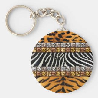 Safari Prints Keychain
