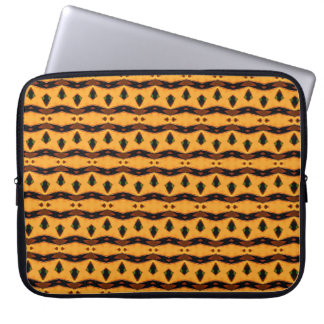 Safari Stripes Laptop Bag Computer Sleeve