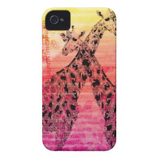 Safari Sun Giraffe Case-Mate iPhone 4 Case