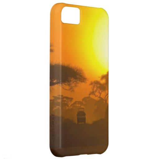 Safari Sunset  iPhone Case iPhone 5C Covers