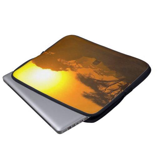 Safari Sunset Mud Cloth Laptop Sleeve