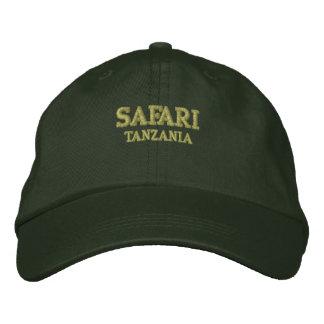 Safari Tanzania Embroidered Hat