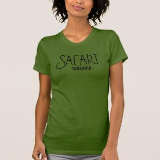 Safari Tanzania Olive T-shirt