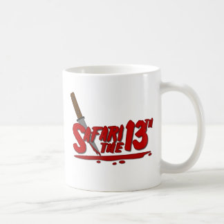 Safari the 13th coffee mug
