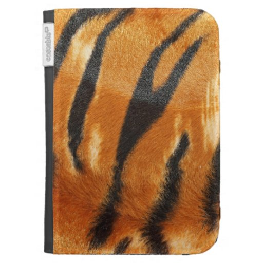 Safari Tiger Stripes Print Kindle Keyboard Case