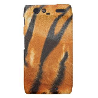 Safari Tiger Stripes Print Motorola Droid RAZR Case
