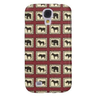 Safari Tiles Samsung Galaxy S4 Cover