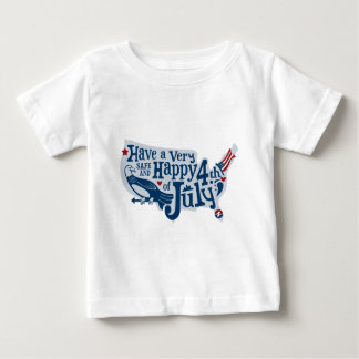 Safe And Happy 4th Of July Baby T-Shirt
