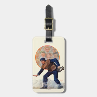Safe at the Plate Bag Tag