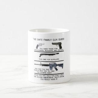 SAFE FAMILY GUN GUIDE COFFEE MUG