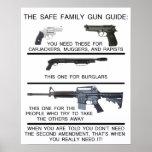 SAFE FAMILY GUN GUIDE PRINT