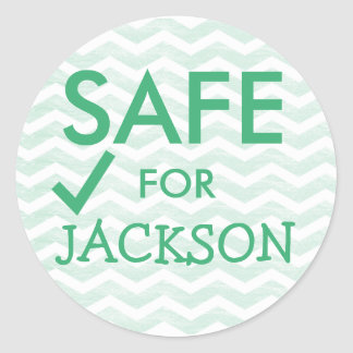 Safe Food Stickers for Special Diets