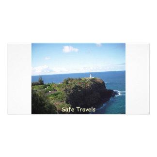 Safe Haven- Safe Travels Custom Photo Card