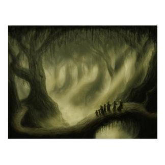 safe passage fantasy landscape postcard