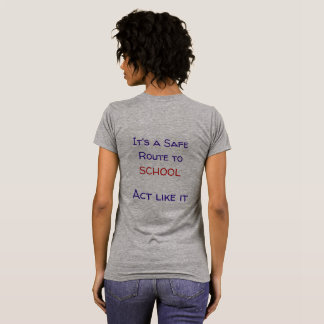 Safe Route to School t-shirt