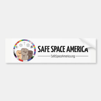Safe Space America Bumper Sticker