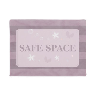 Safe space doormat