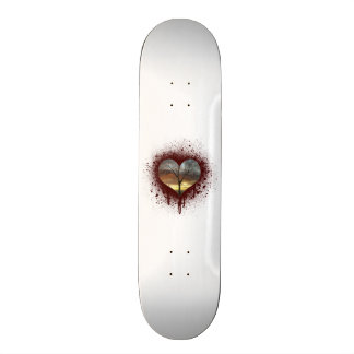 Safe the nature bleeding heart tree of life skate board deck