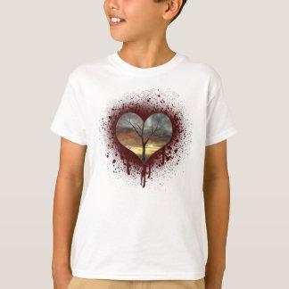 Safe the nature bleeding heart tree of life T-Shirt